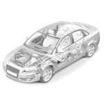 АКПП F4A41-1-M8A4 Mitsubishi Mirage 4G15 (2WD) Б/У